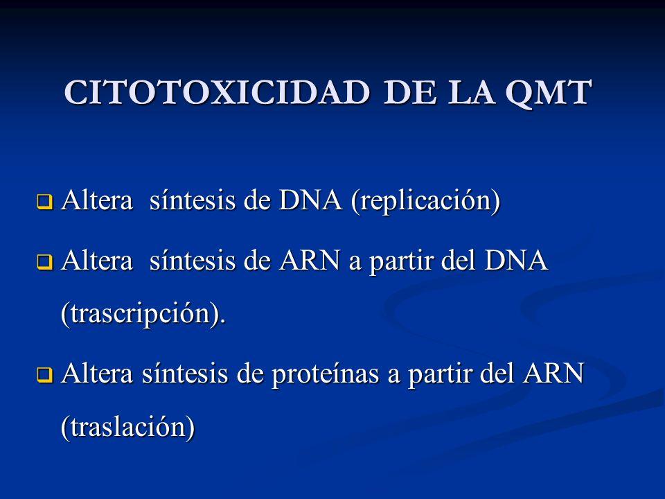 CITOTOXICIDAD DE LA QMT