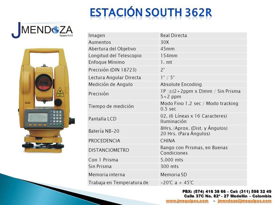 Estación south 362r Imagen Real Directa Aumentos 30X