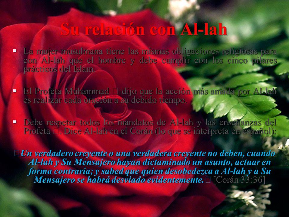 Su relación con Al-lah