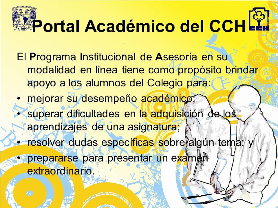 Portal Académico del CCH