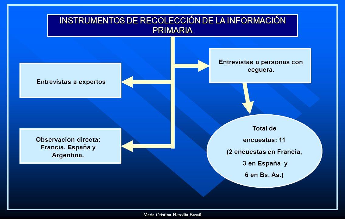 INSTRUMENTOS DE RECOLECCIÓN DE LA INFORMACIÓN PRIMARIA