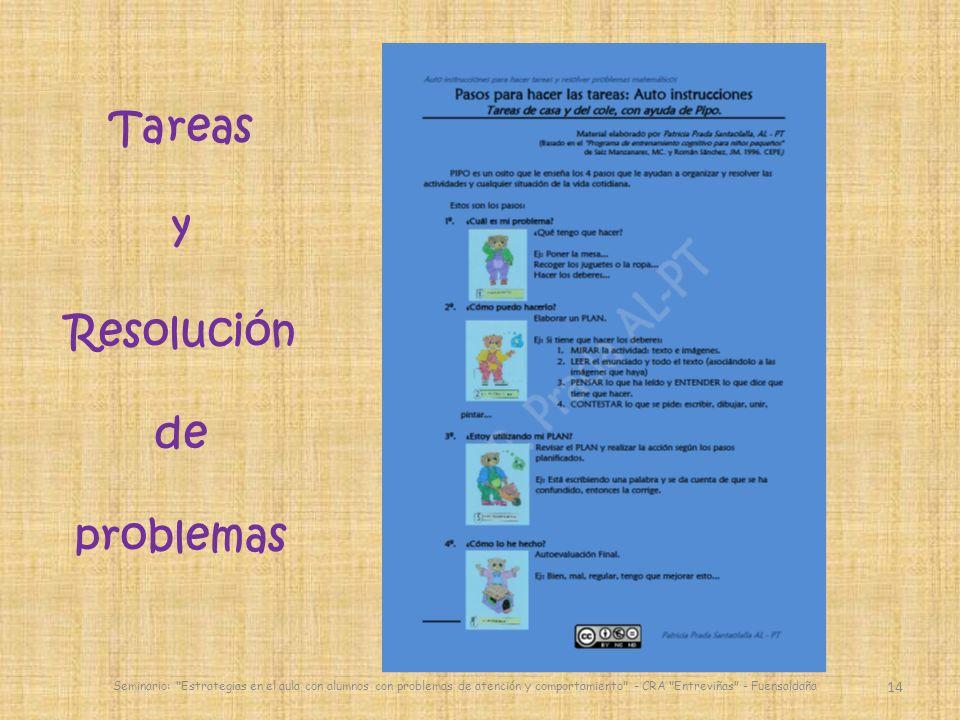 Tareas y Resolución de problemas