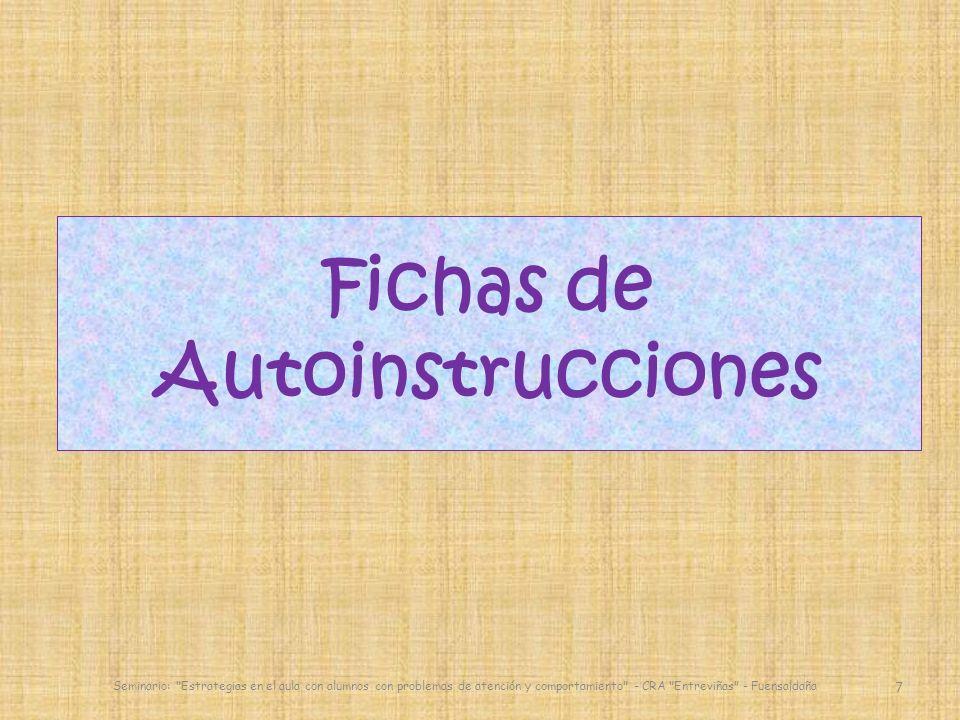 Fichas de Autoinstrucciones