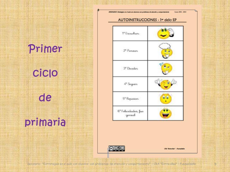 Primer ciclo de primaria