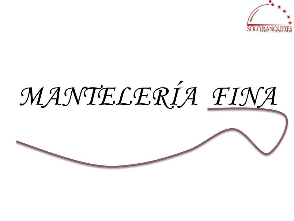 MANTELERÍA FINA