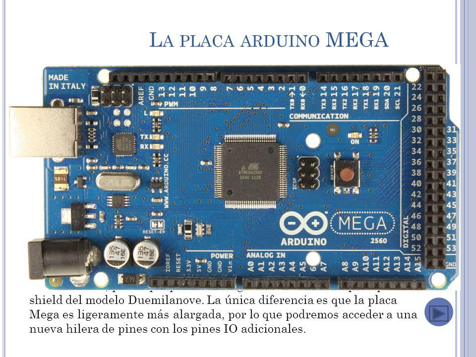 La placa arduino MEGA