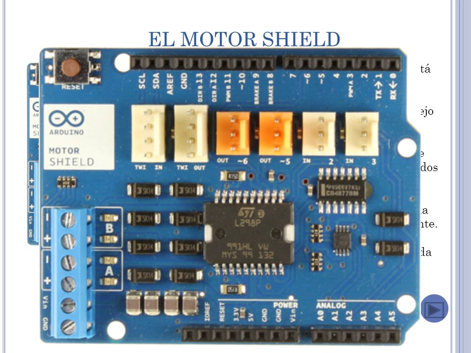 EL MOTOR SHIELD