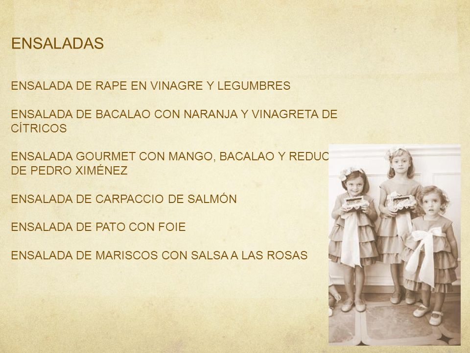 ENSALADAS ENSALADA DE RAPE EN VINAGRE Y LEGUMBRES
