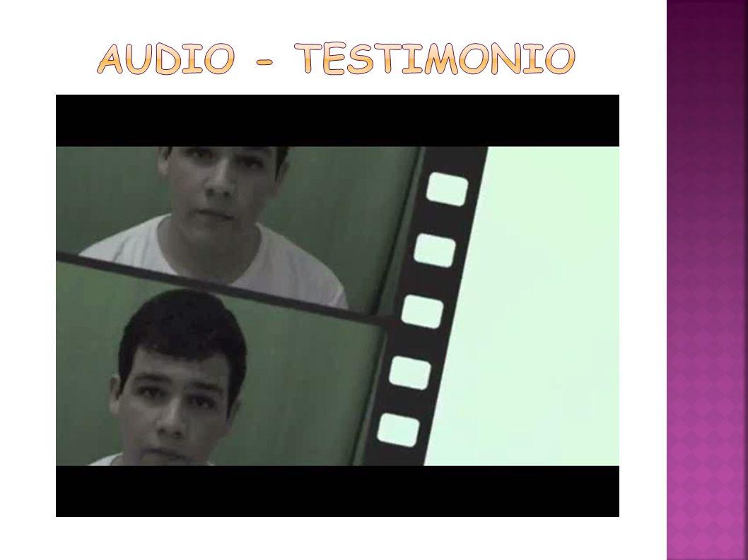 Audio - testimonio