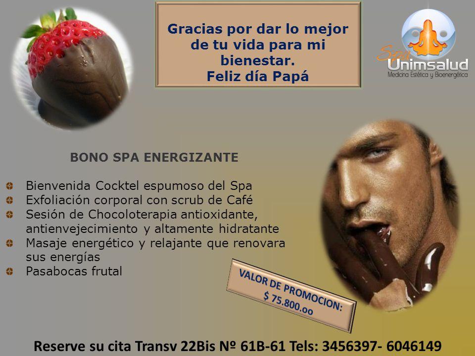 Reserve su cita Transv 22Bis Nº 61B-61 Tels: 3456397- 6046149
