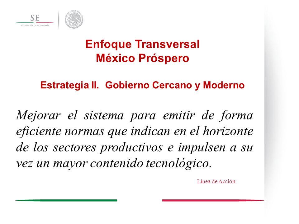 Enfoque Transversal México Próspero Estrategia II