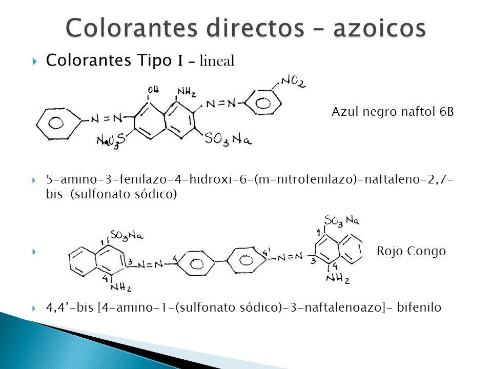 Colorantes directos – azoicos
