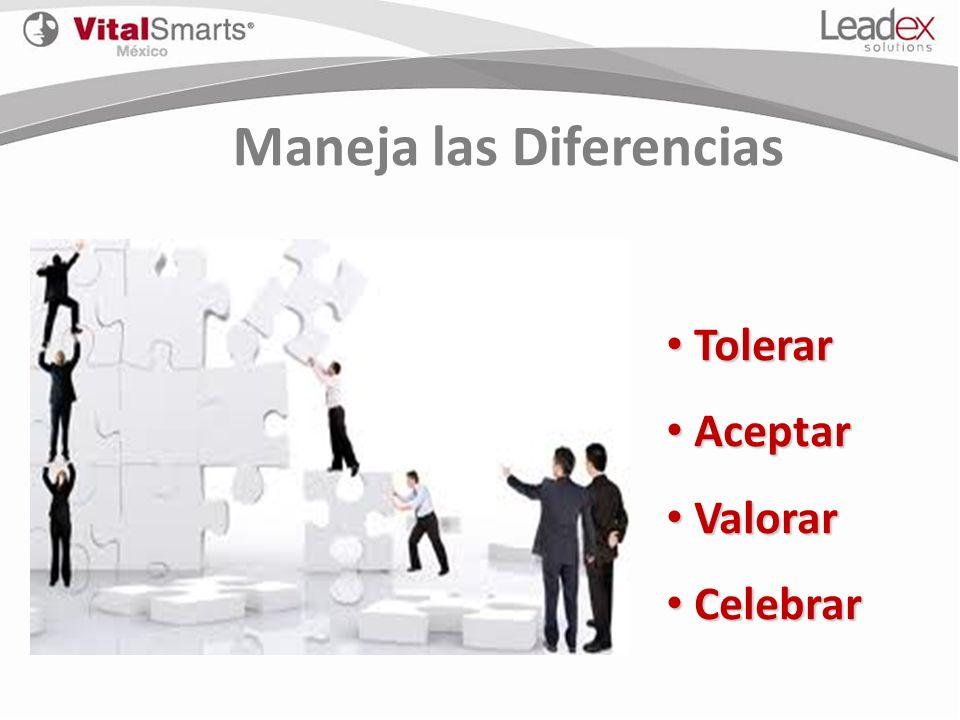 Maneja las Diferencias