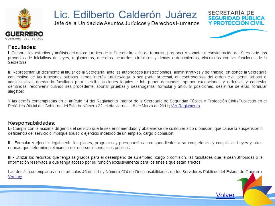 Lic. Edilberto Calderón Juárez