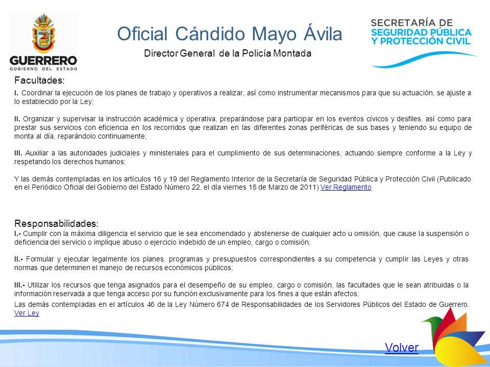 Oficial Cándido Mayo Ávila