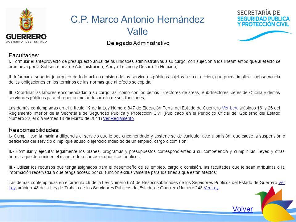 C.P. Marco Antonio Hernández Valle
