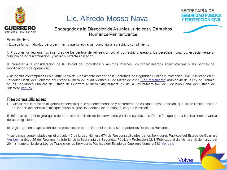 Lic. Alfredo Mosso Nava Volver