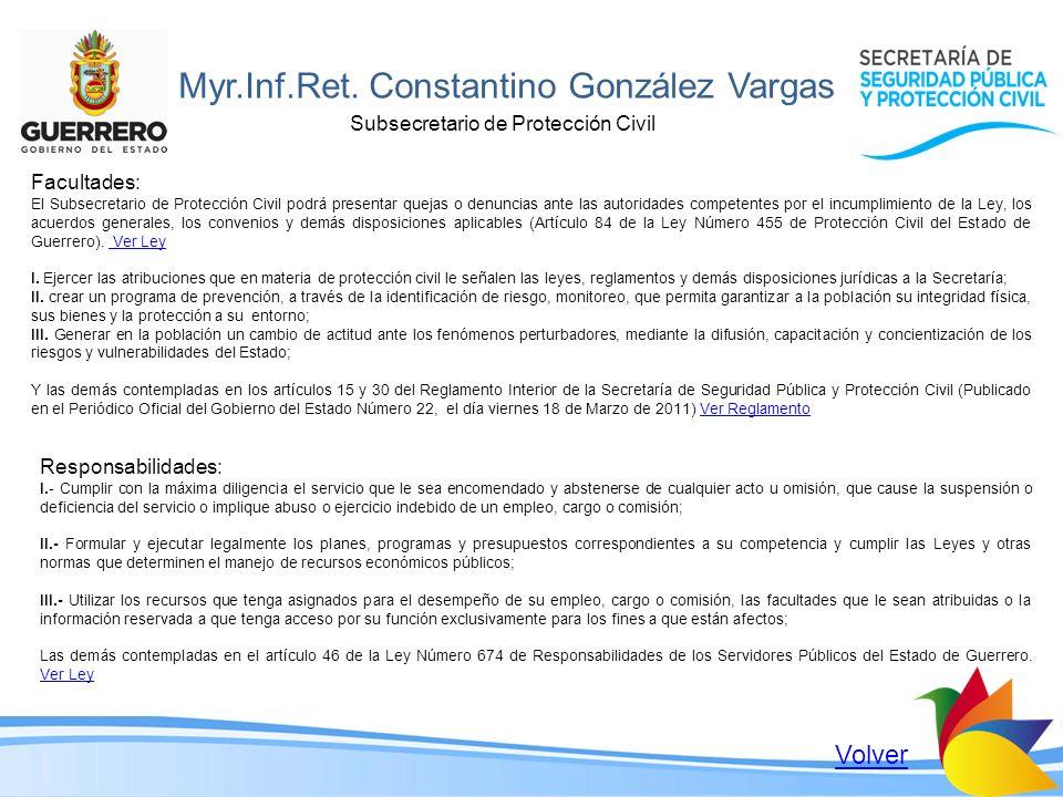 Myr.Inf.Ret. Constantino González Vargas
