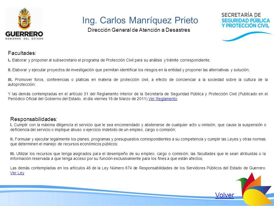 Ing. Carlos Manríquez Prieto