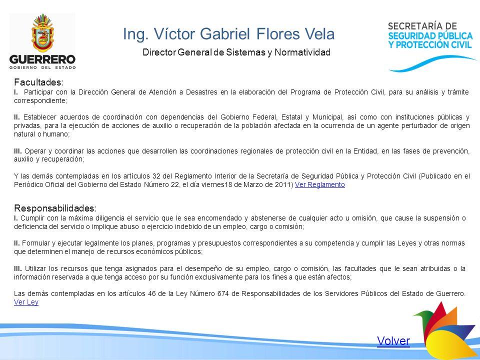 Ing. Víctor Gabriel Flores Vela