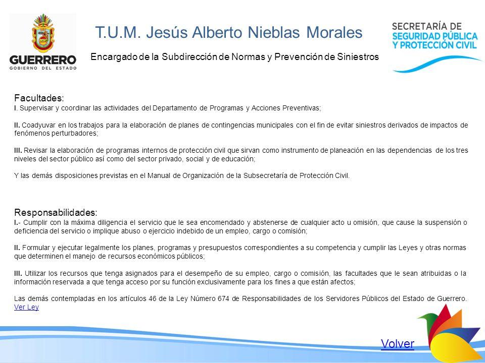 T.U.M. Jesús Alberto Nieblas Morales