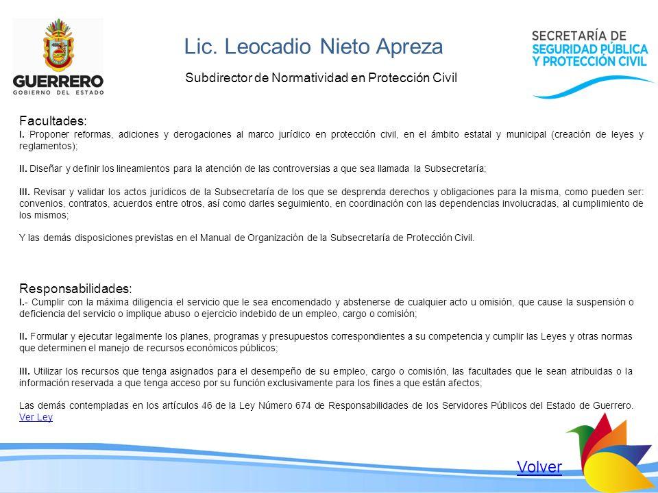 Lic. Leocadio Nieto Apreza