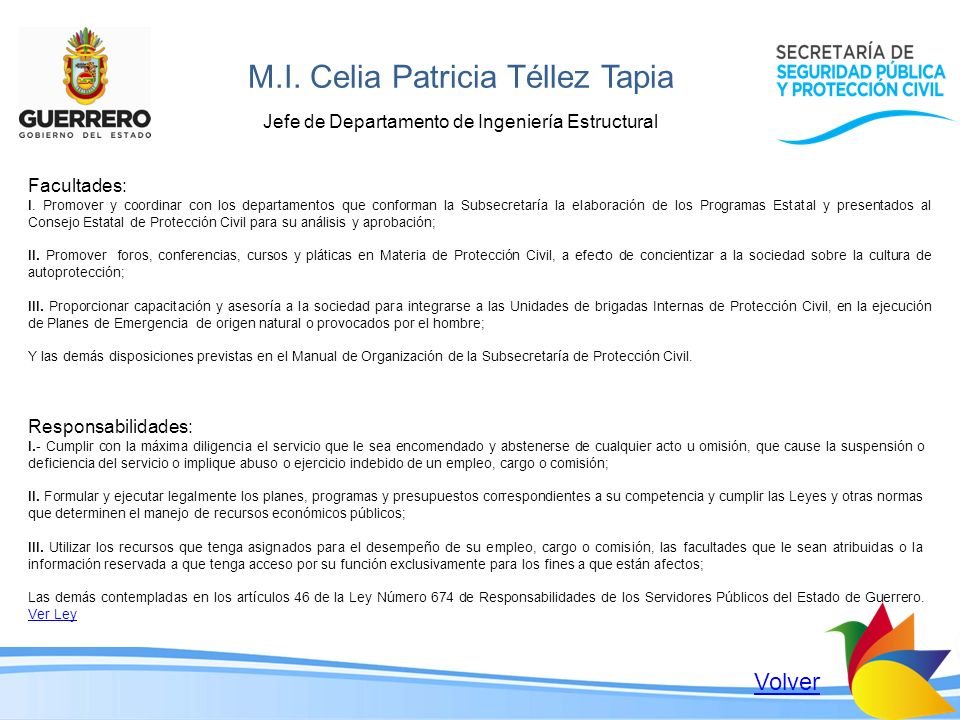 M.I. Celia Patricia Téllez Tapia