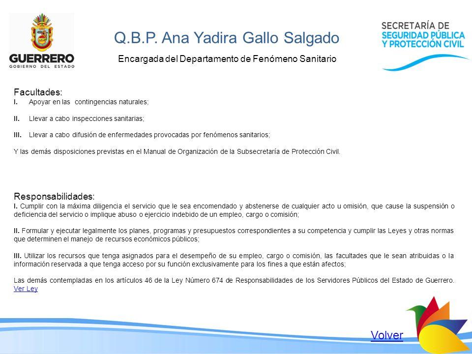 Q.B.P. Ana Yadira Gallo Salgado