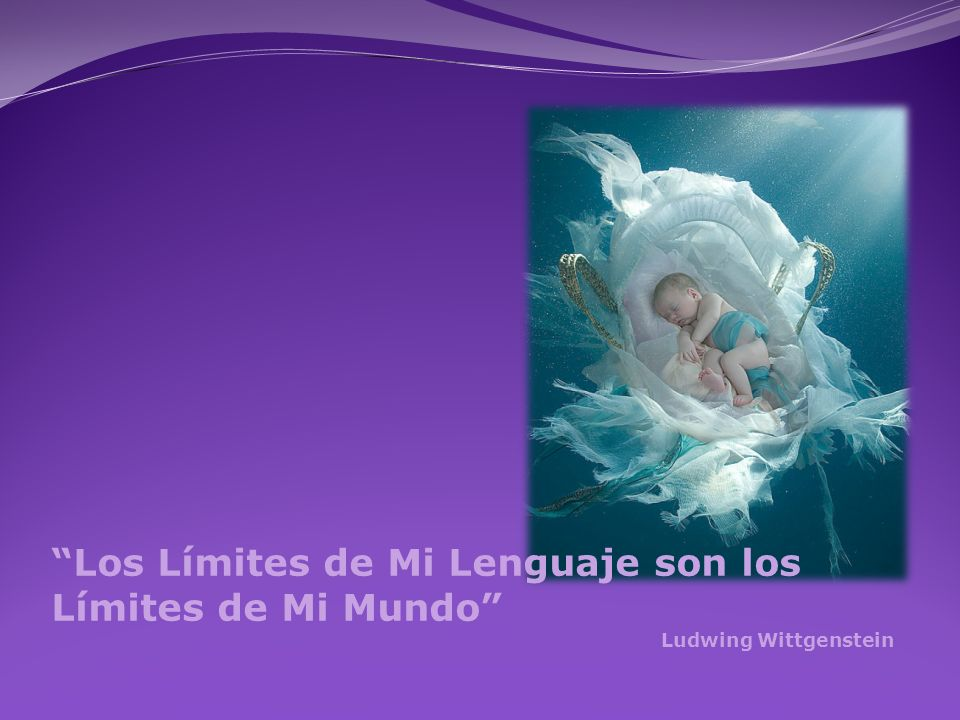 Los Límites de Mi Lenguaje son los Límites de Mi Mundo
