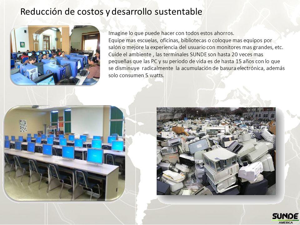 Reducción de costos y desarrollo sustentable