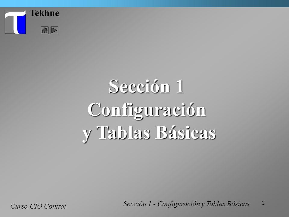 Sección 1 Configuración y Tablas Básicas