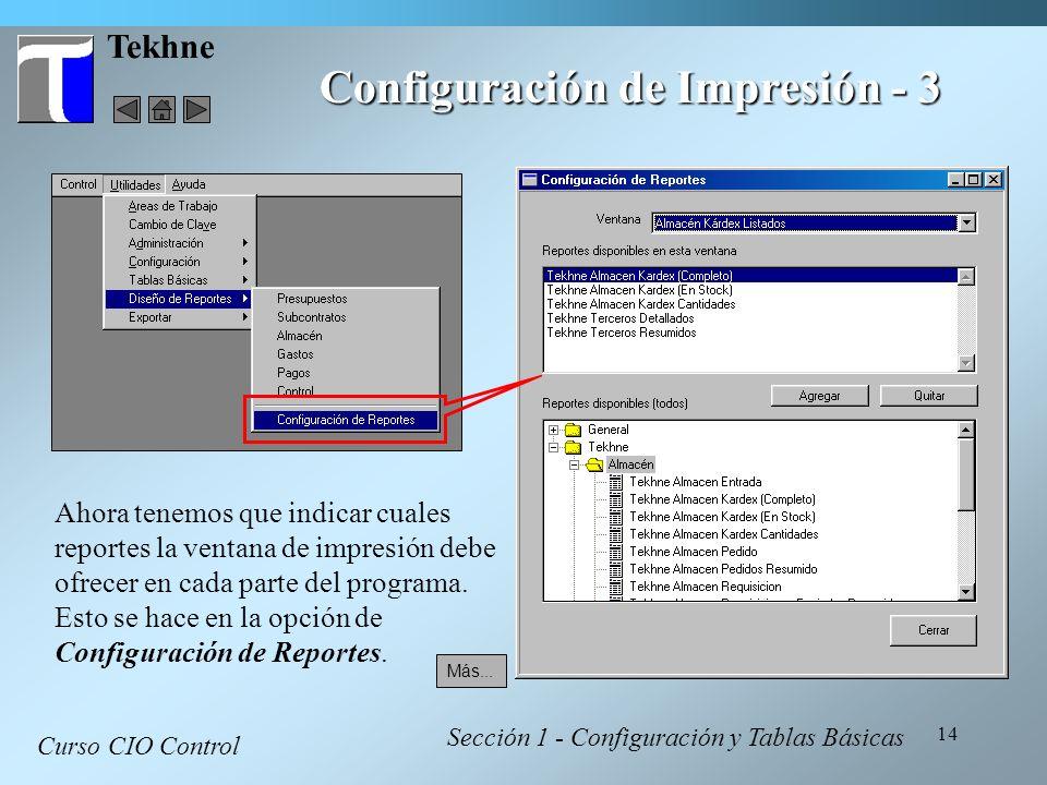 Configuración de Impresión - 3