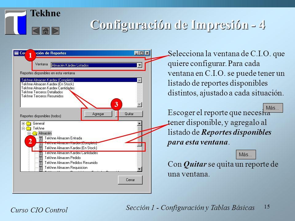 Configuración de Impresión - 4