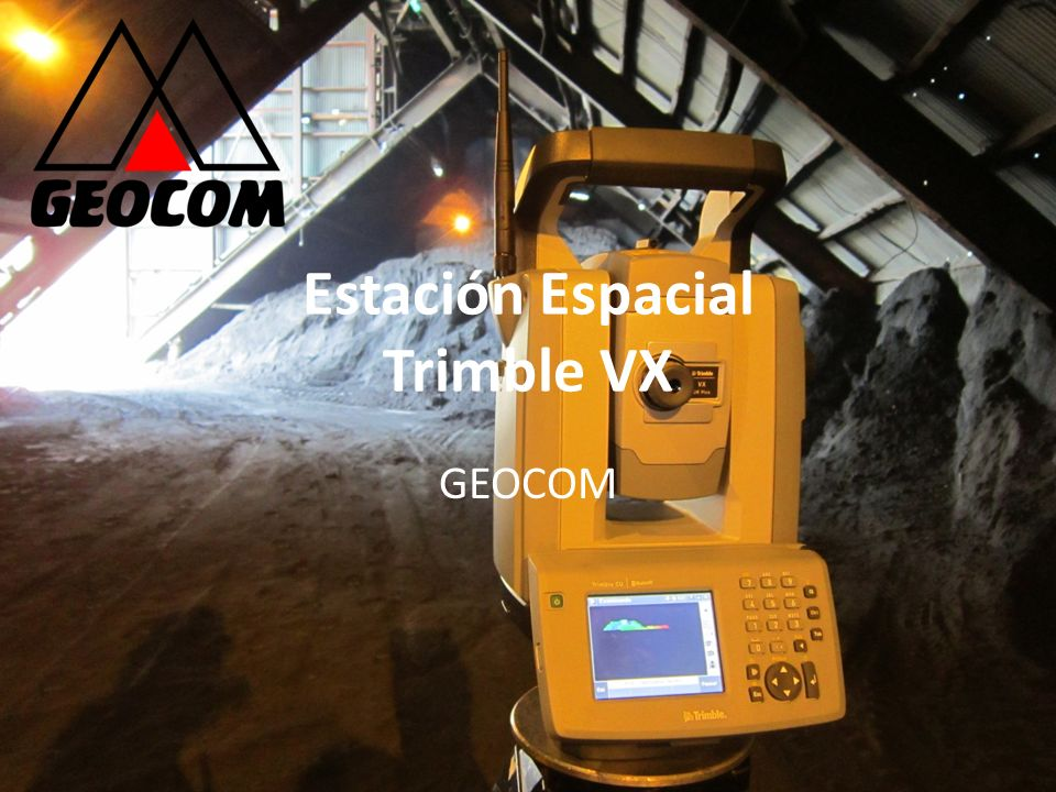 Estación Espacial Trimble VX