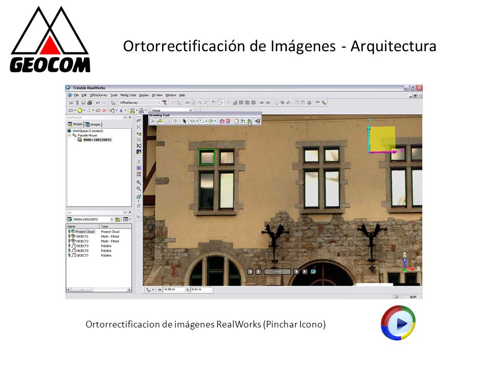 Ortorrectificación de Imágenes - Arquitectura