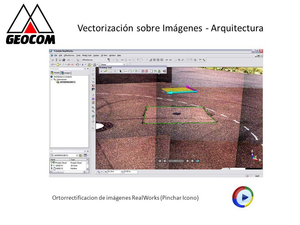 Vectorización sobre Imágenes - Arquitectura