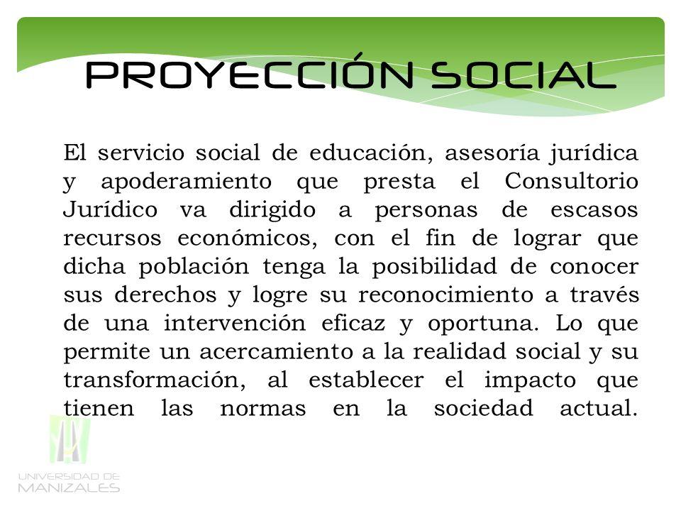PROYECCIÓN SOCIAL