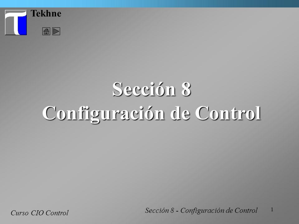 Configuración de Control