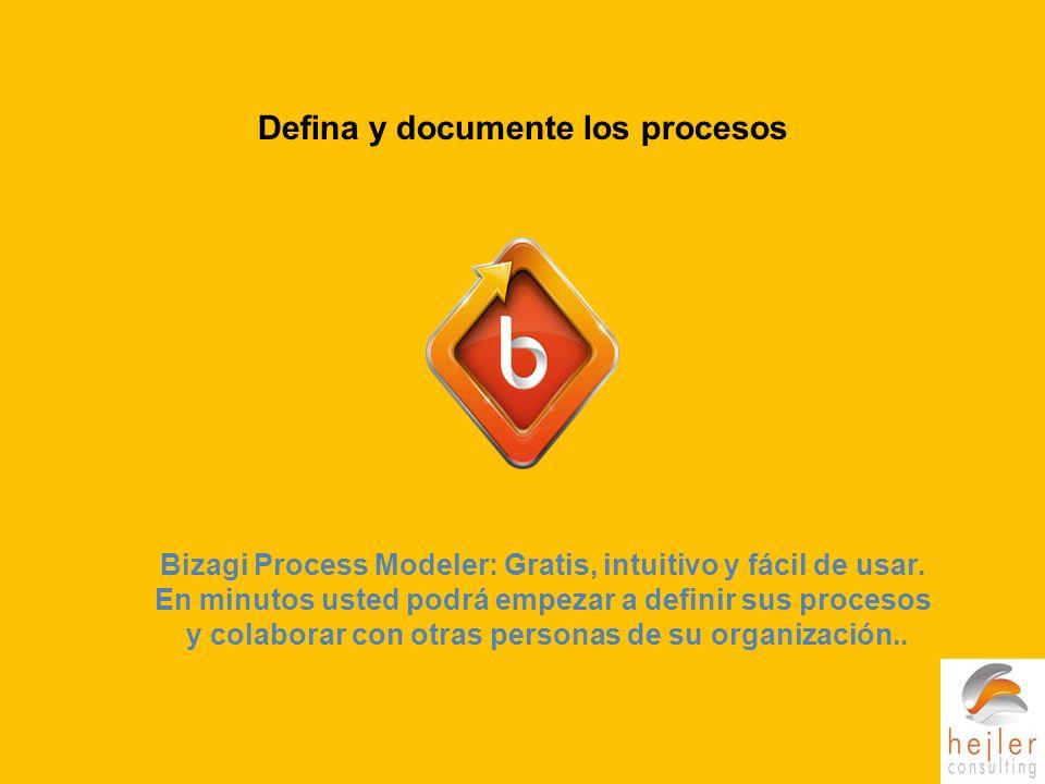 Defina y documente los procesos