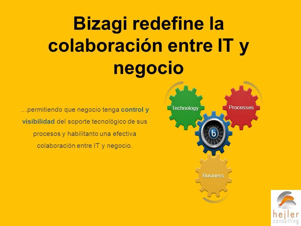 Bizagi redefine la colaboración entre IT y negocio