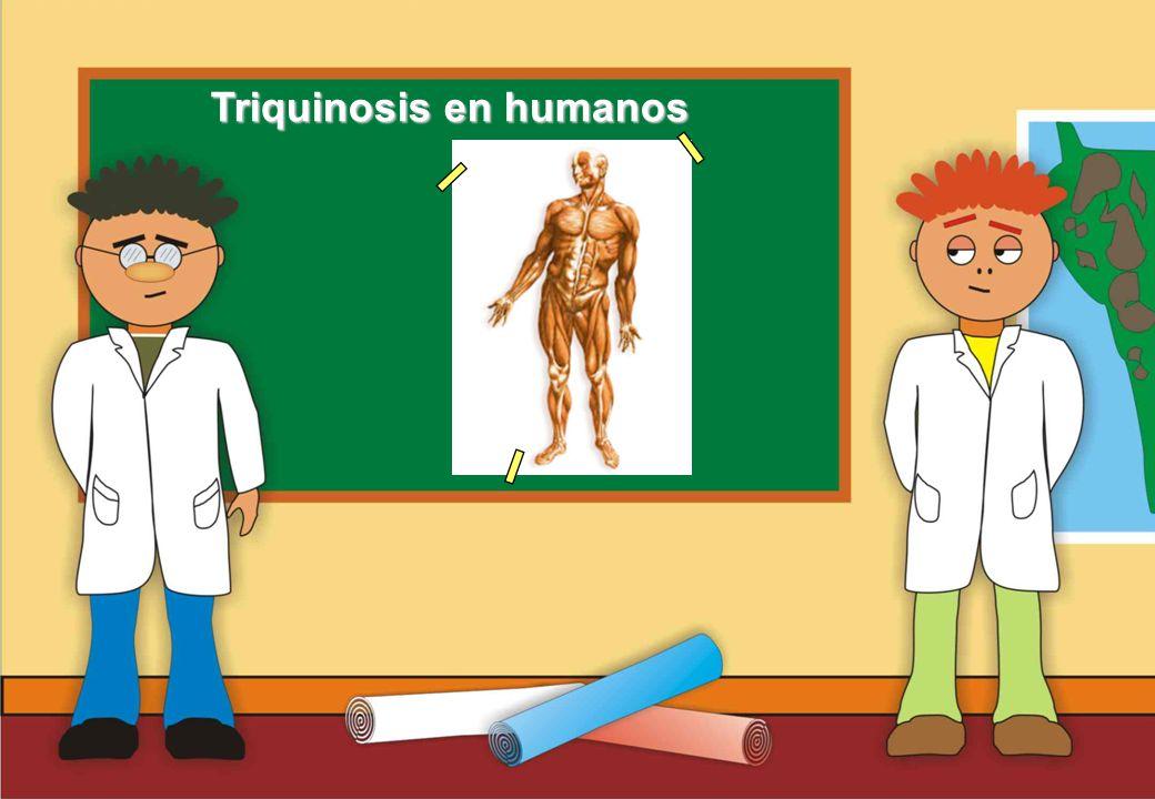 Triquinosis en humanos