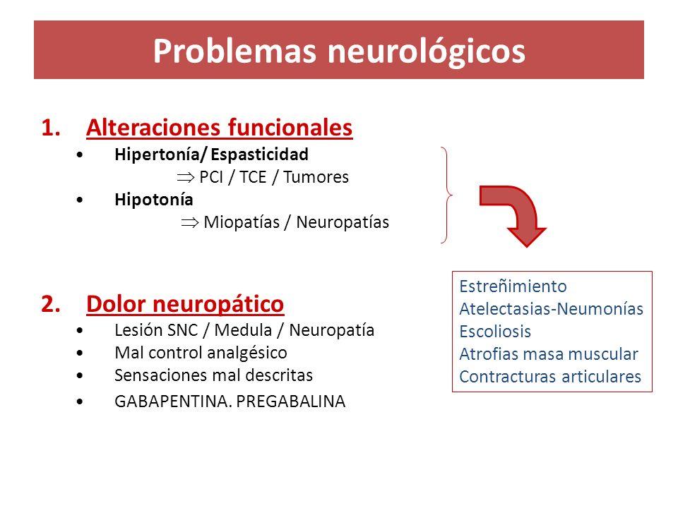 Problemas neurológicos