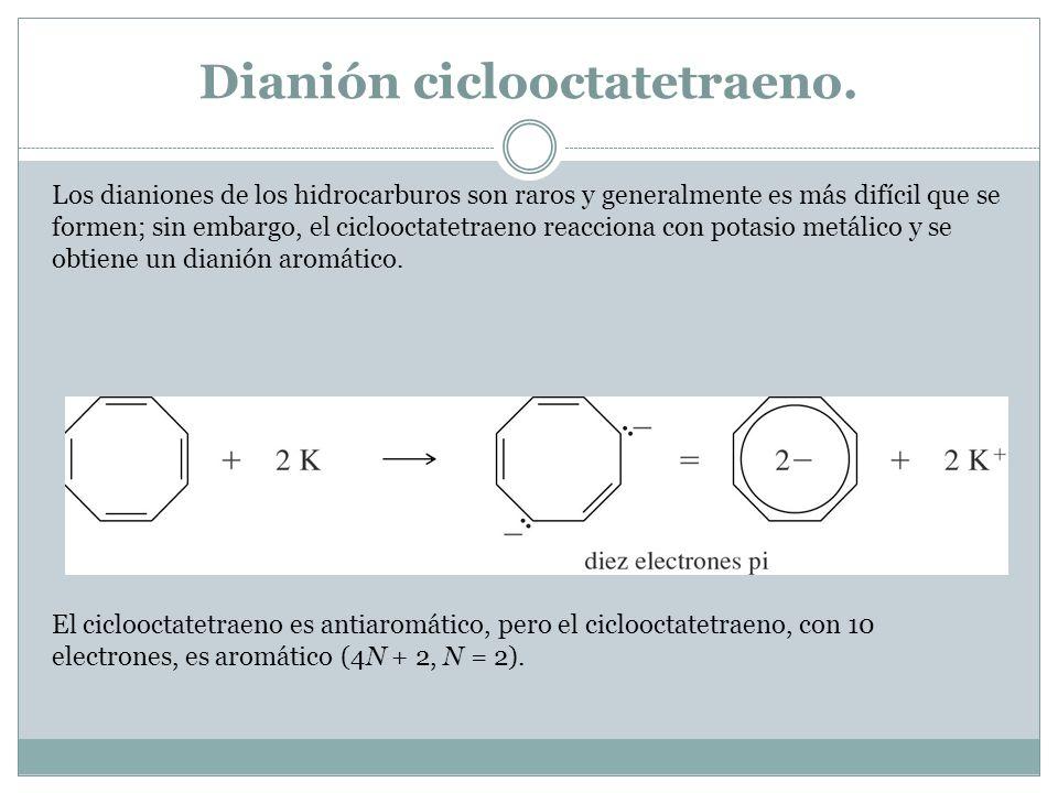Dianión ciclooctatetraeno.