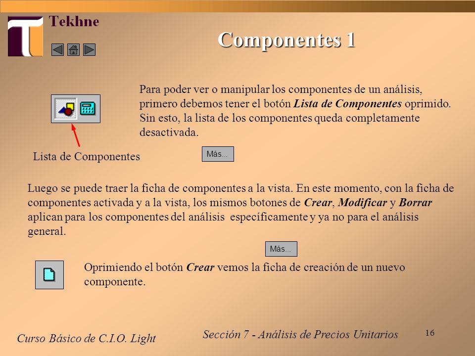 Componentes 1