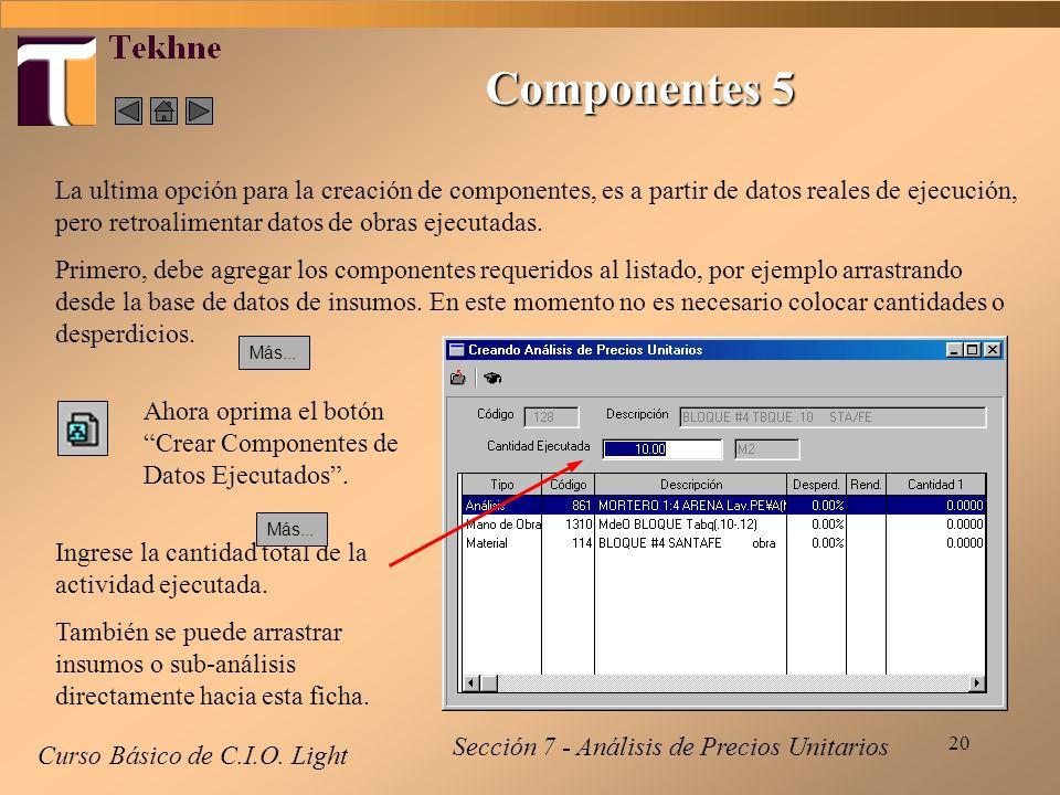 Componentes 5