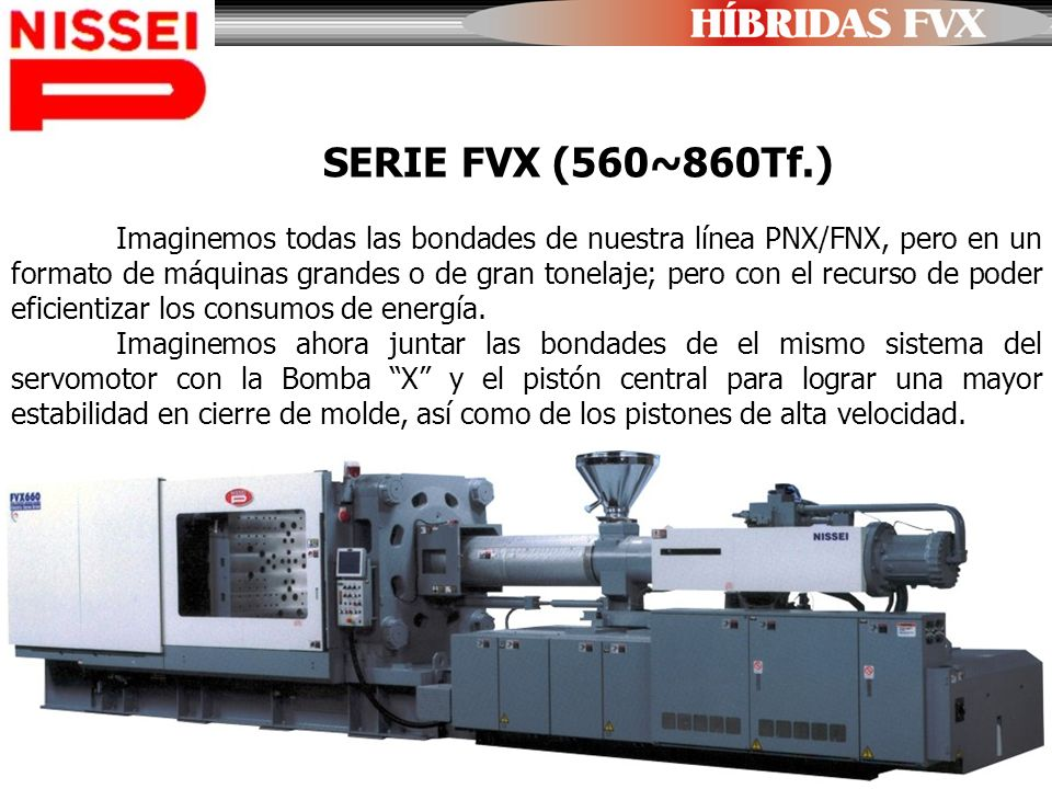SERIE FVX (560~860Tf.)