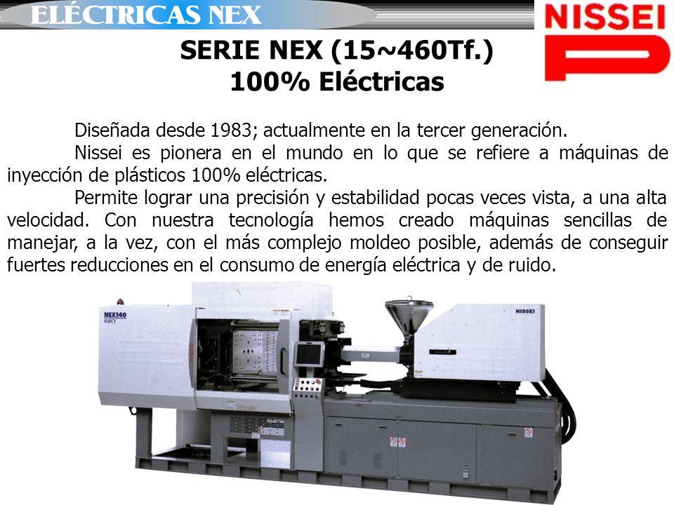SERIE NEX (15~460Tf.) 100% Eléctricas