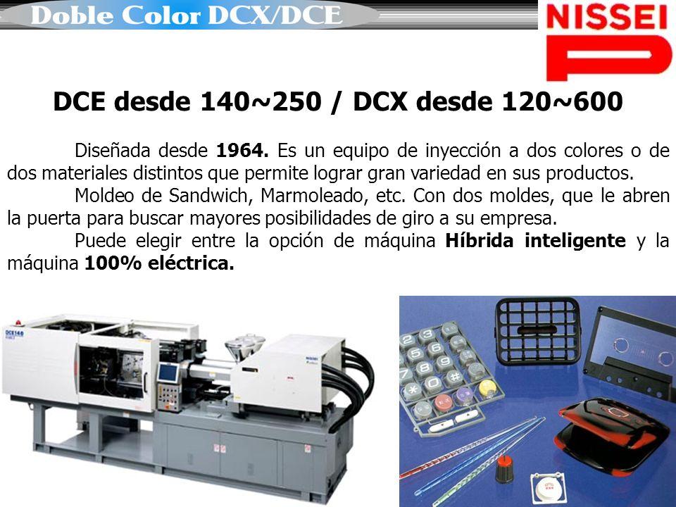 DCE desde 140~250 / DCX desde 120~600
