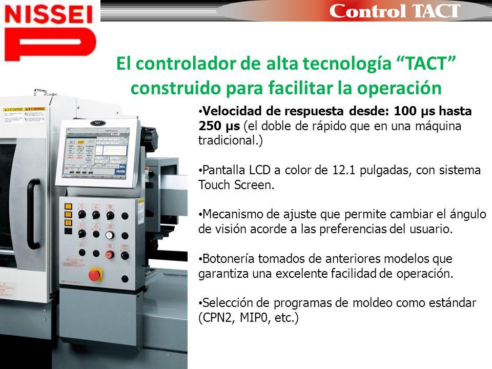 El controlador de alta tecnología TACT