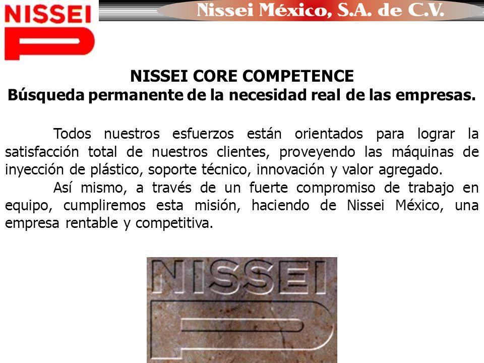 NISSEI CORE COMPETENCE